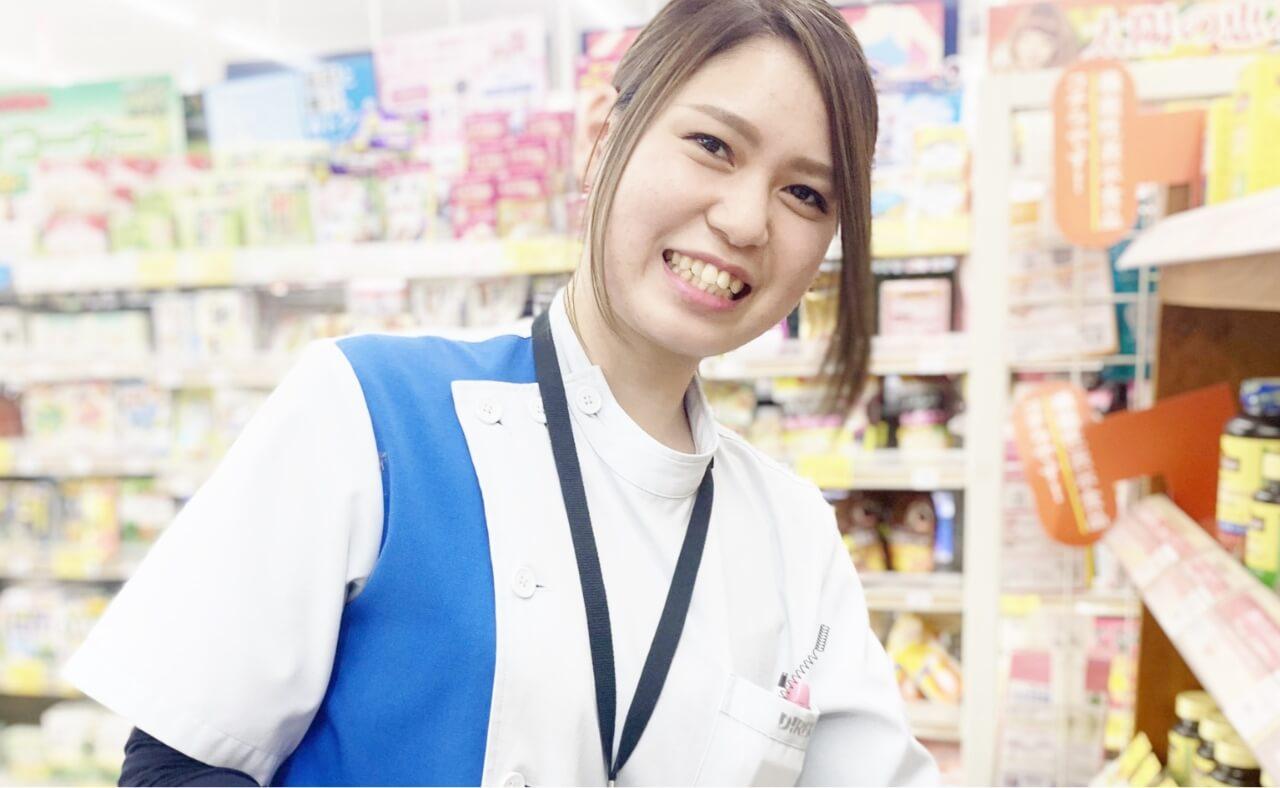 医薬品登録販売者(営業部(店舗) / 2018年入社)